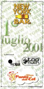 2001-puntadellest-2001-07-01 p1 i01
