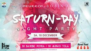 10 dicembre 2016 saturnday flyer