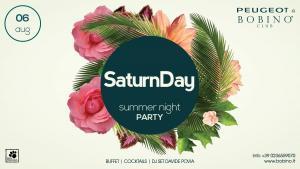 6 agosto 2016 saturnDay flyer