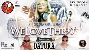 8 dicembre 2016 weLove flyer