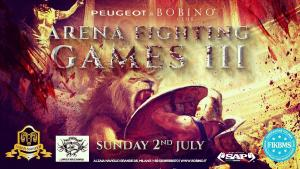 2 luglio 2017 arenaFIGHTINGgames flyer