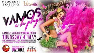 4 maggio 2017 inaugurazione playa flyer